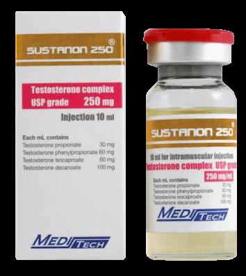 Sustanon (Organon) • WikiStero • La Bibbia di Steroidi
