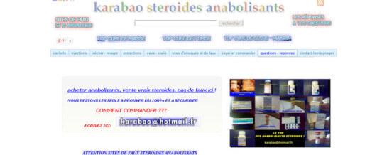 Recensione Karabao Anabolic Steroids