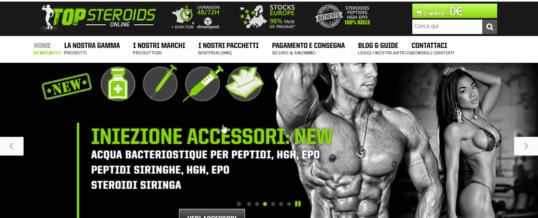 Opinioni e prova d'acquisto su top-steroids-online.com